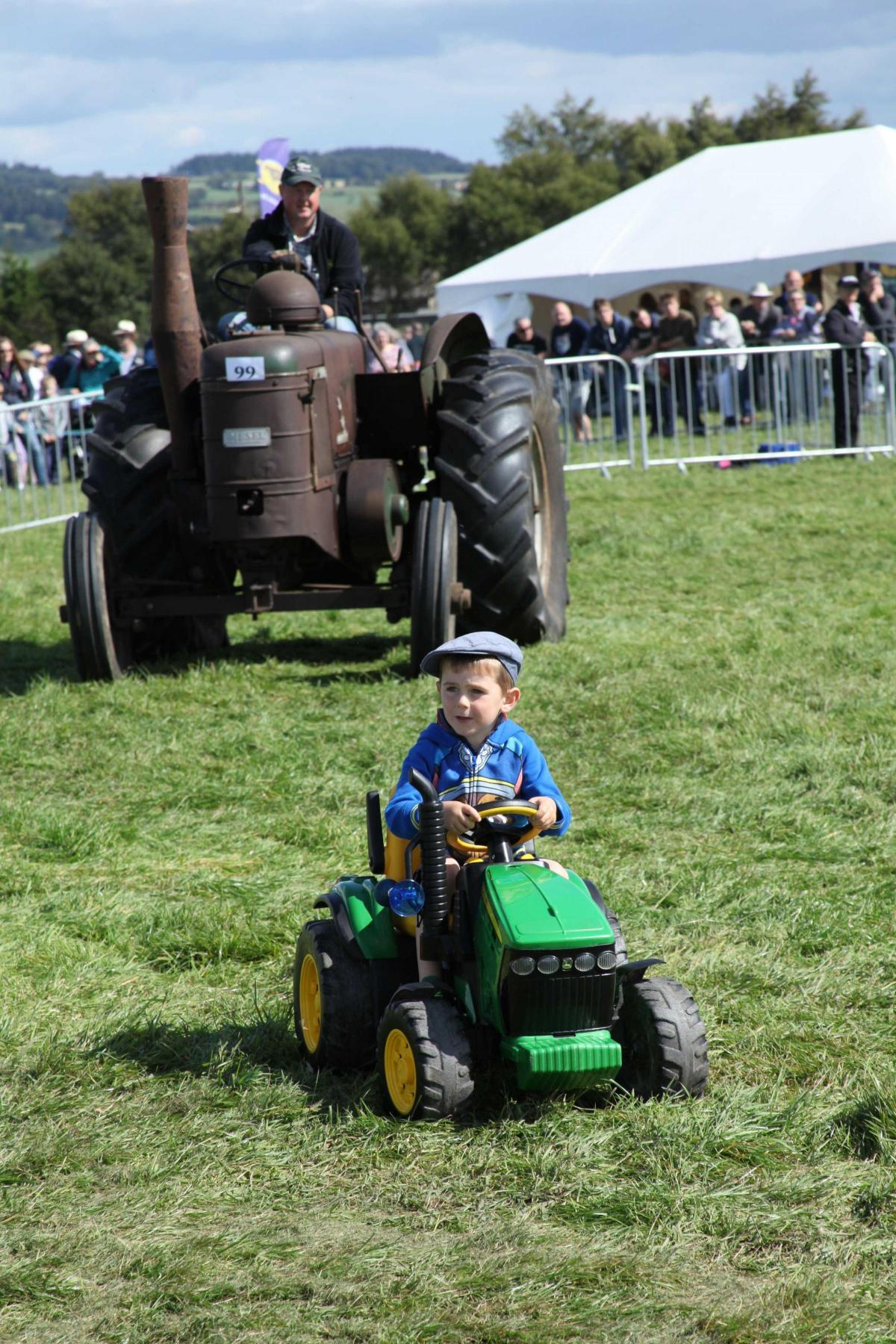 SHOWTIME: The Wensleydale Show attracted visitors and exhibitors of all ages
