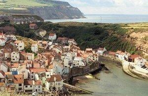 New view of Staithes from route in North Yorkshire – Picture: Natural England