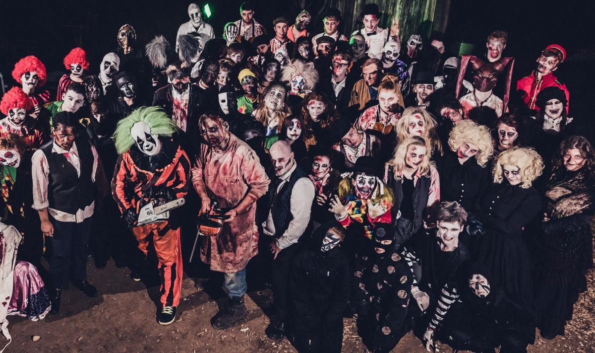 york maze halloween. friday the 13th proves lucky for horror fans this halloween. horror: york maze halloween