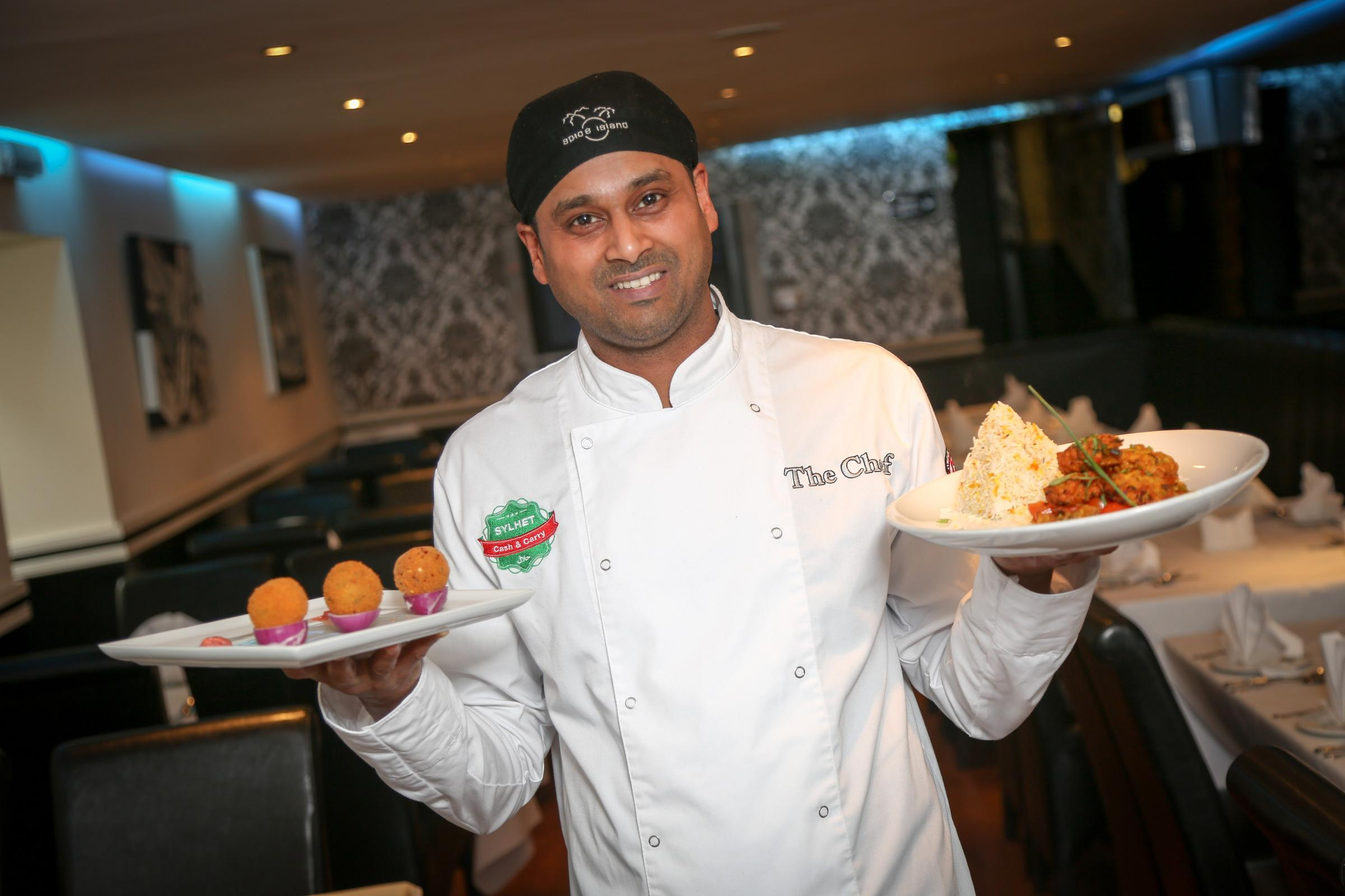 Chef Milon Miah, who works at Spice Island in Barnard Castle, has been named best Indian chef in the North-East after competing in a TV cookery competition. Picture: TOM BANKS