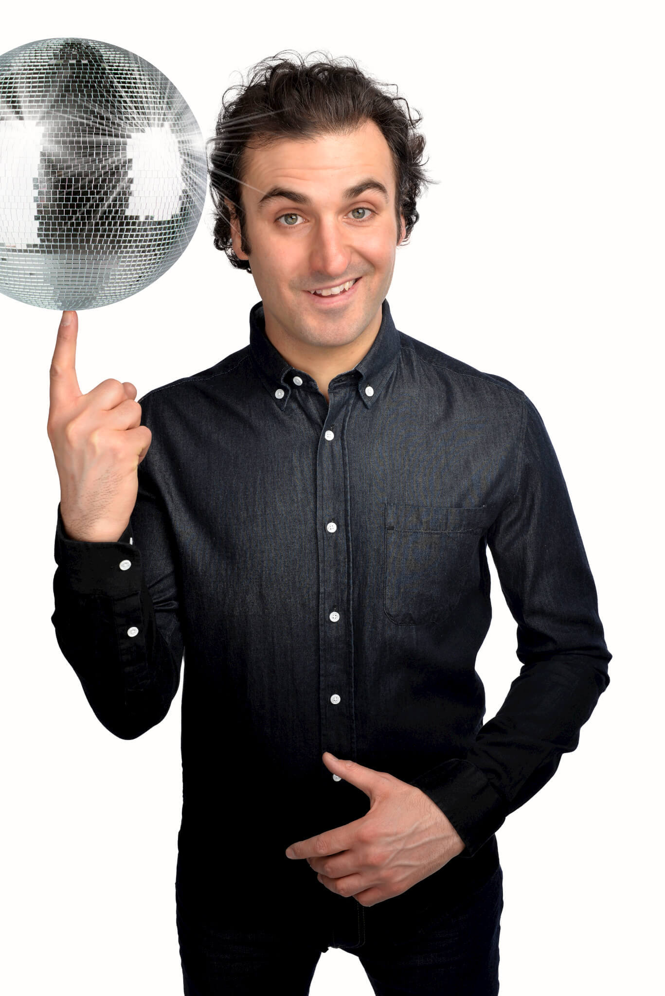 COMEDY: Patrick Monahan, who will be touring the region as part of his UK tour Rewind Selector 90s. Picture: STEVE ULLATHORNE