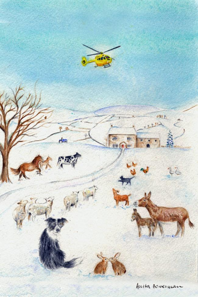 Harrogate-based artist launches charity Christmas card appeal ...