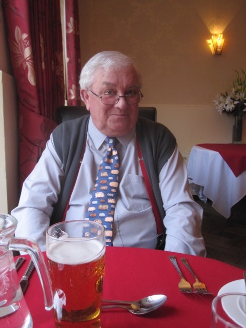 TRIBUTE: Richard Birks, 68, was killed in a road accident