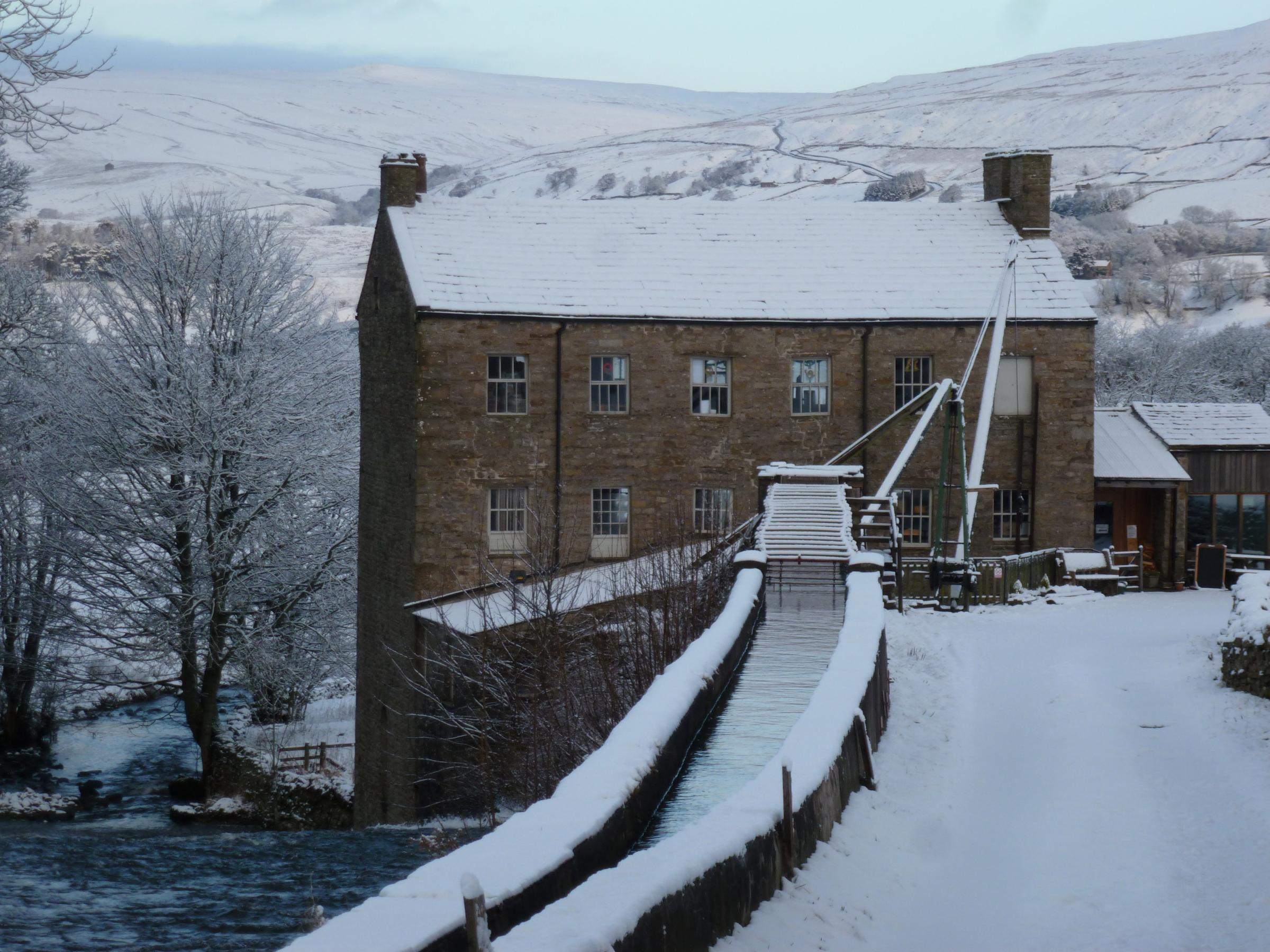 TRUST: Gayle Mill, near Hawes in Wensleydale. Picture: GAYLE MILL TRUST