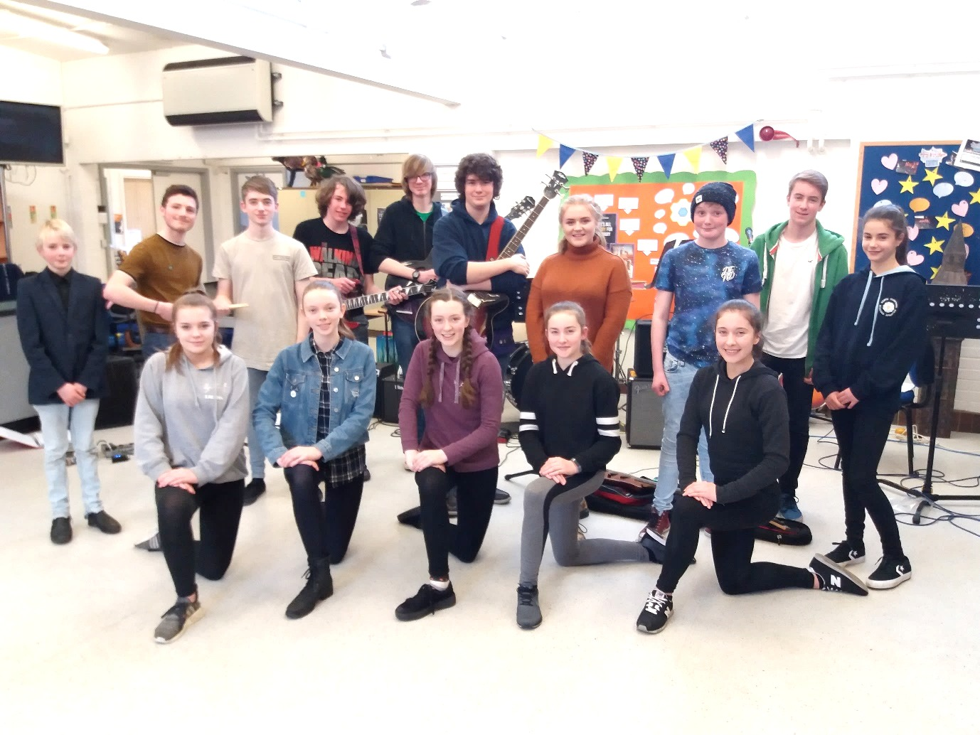 Dales Variety Groups come together for rehearsals at The Richmondshire Prevention Hub
