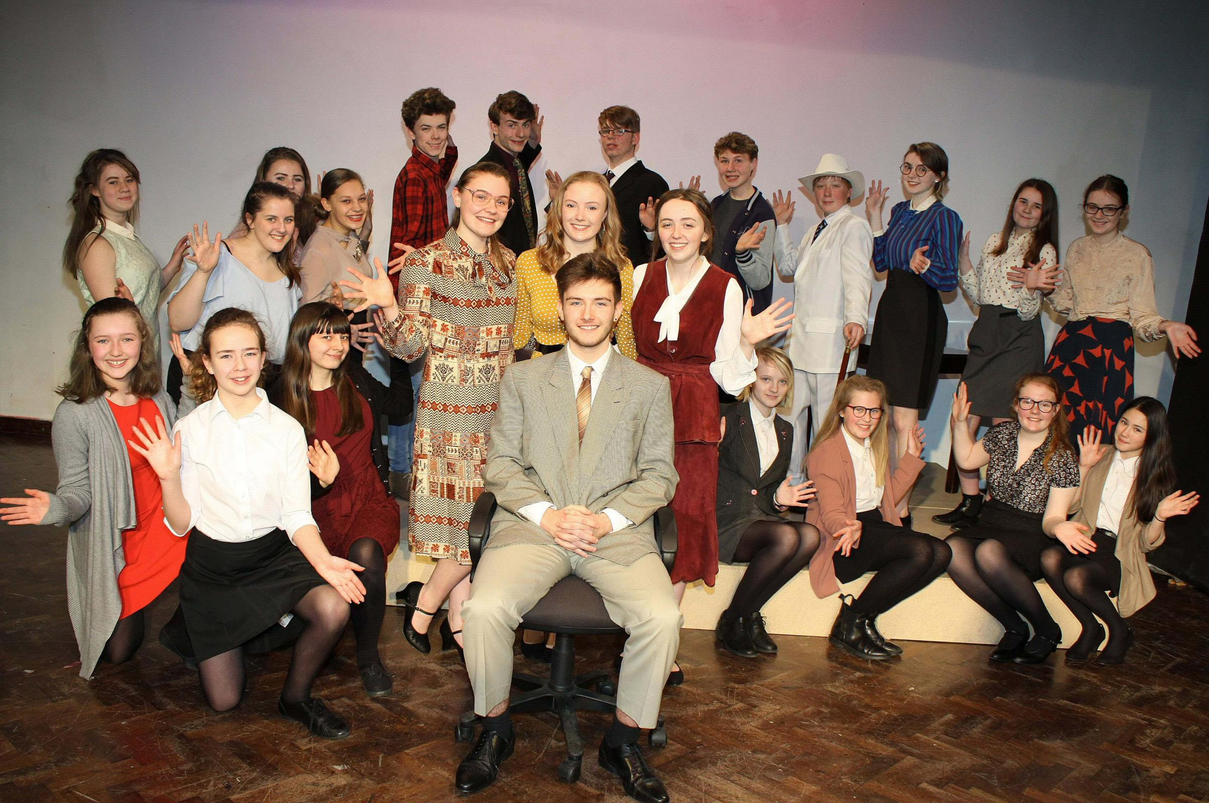 SHOW: Northallerton School and Sixth Form College students bring the iconic 9 to 5 movie to the stage.