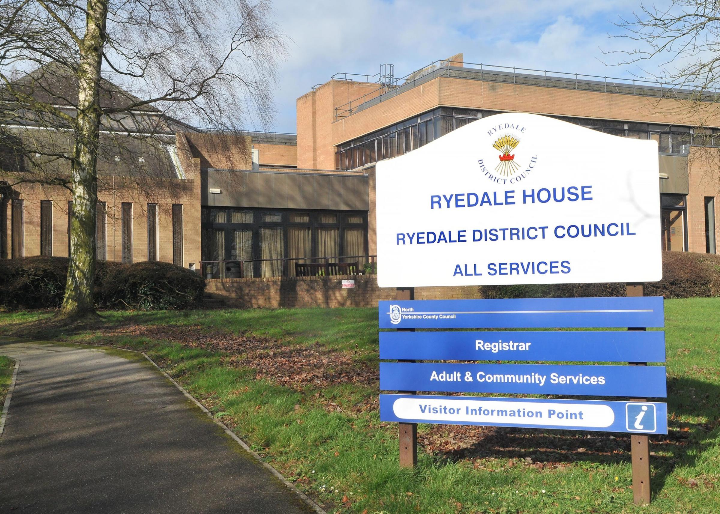 MOVE: The current headquarters of Ryedale District Council in Malton.