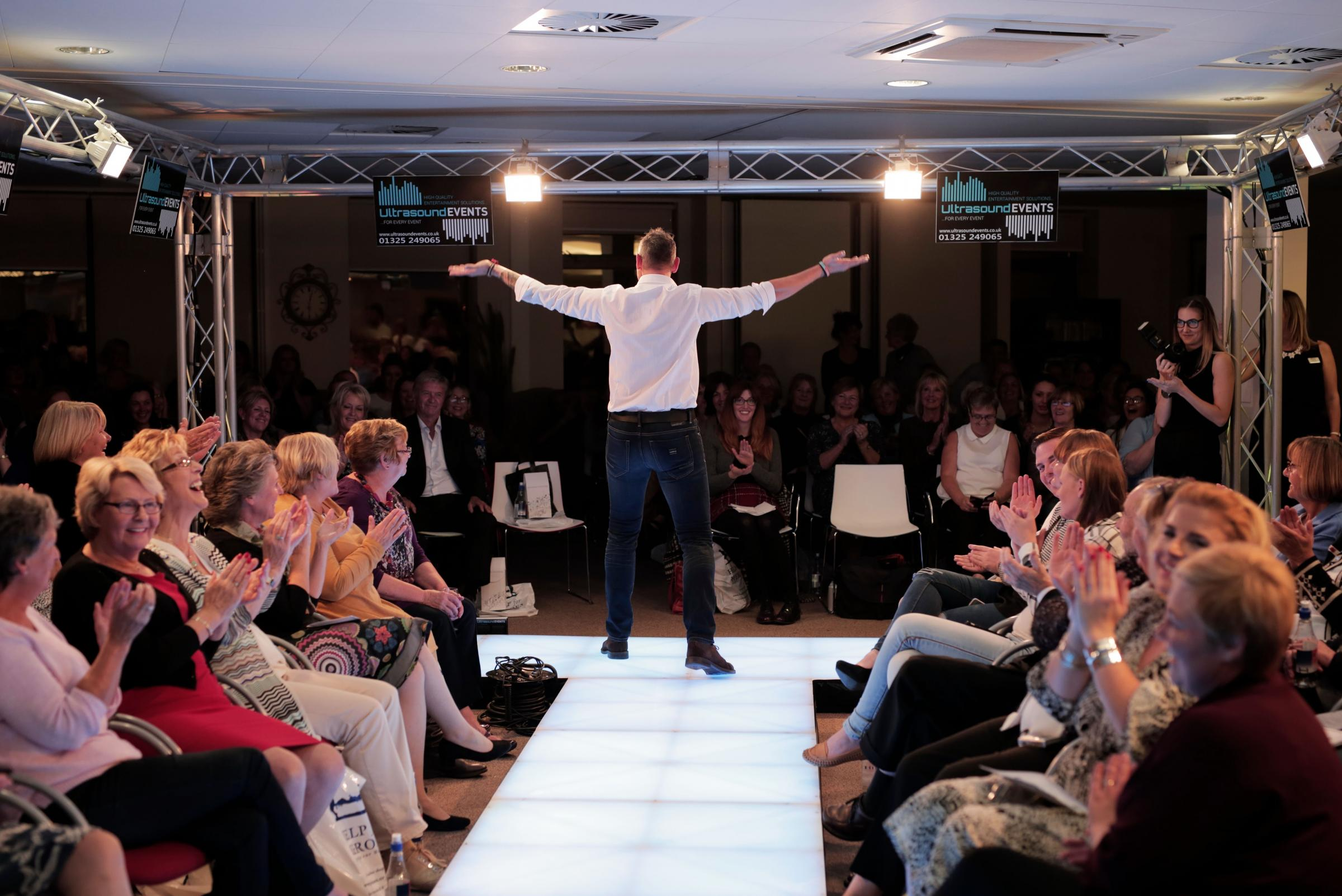 Help for Heroes fashion show at Phoenix House in Catterick Garrison. Picture: Stuart Boulton