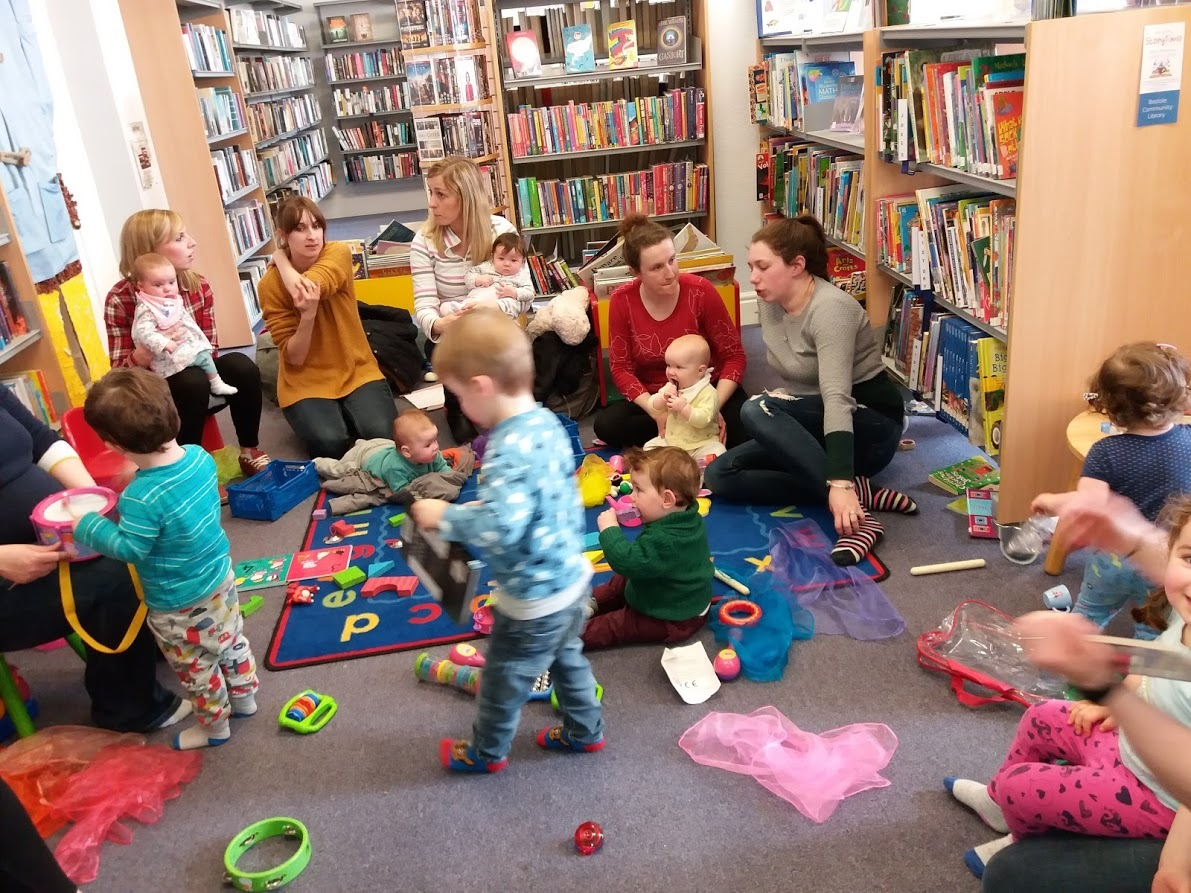 RHYME: Bedale Community Library captures the attention of babies and toddlers