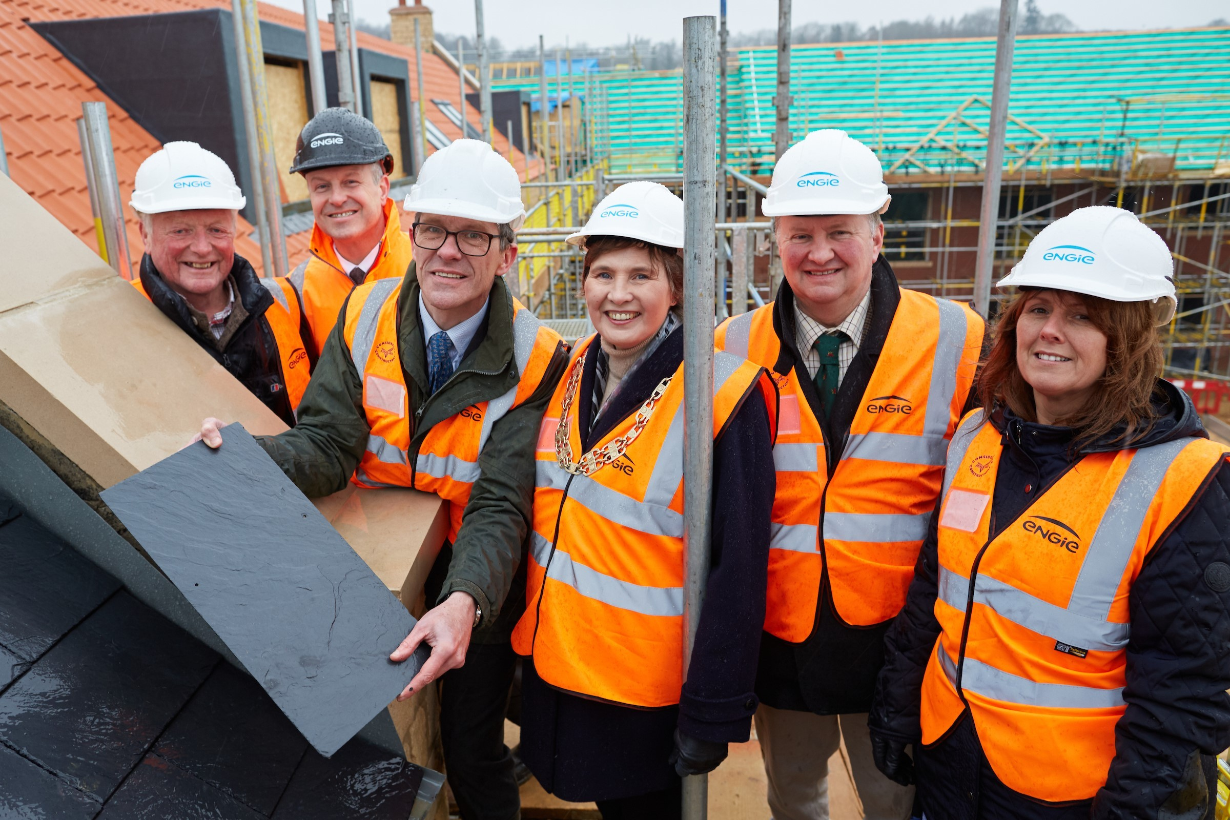 Helmsley topping out ceremony