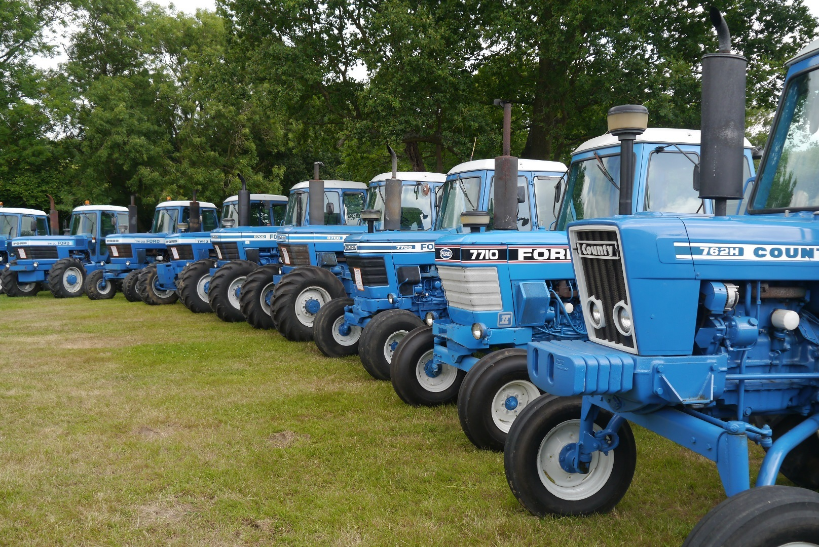 Som,e of the Paul Cable tractors for sale