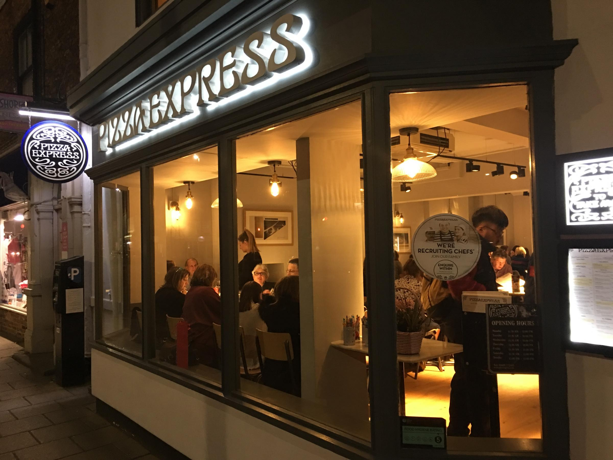 Review: Pizza Express, Northallerton