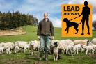 CAMPAIGN : Livestock owner Jonathan Metcalf talks about their experiences of sheep worrying and how to keep your dog under control for the new Lead The Way campaign. Picture: SARAH CALDECOTT