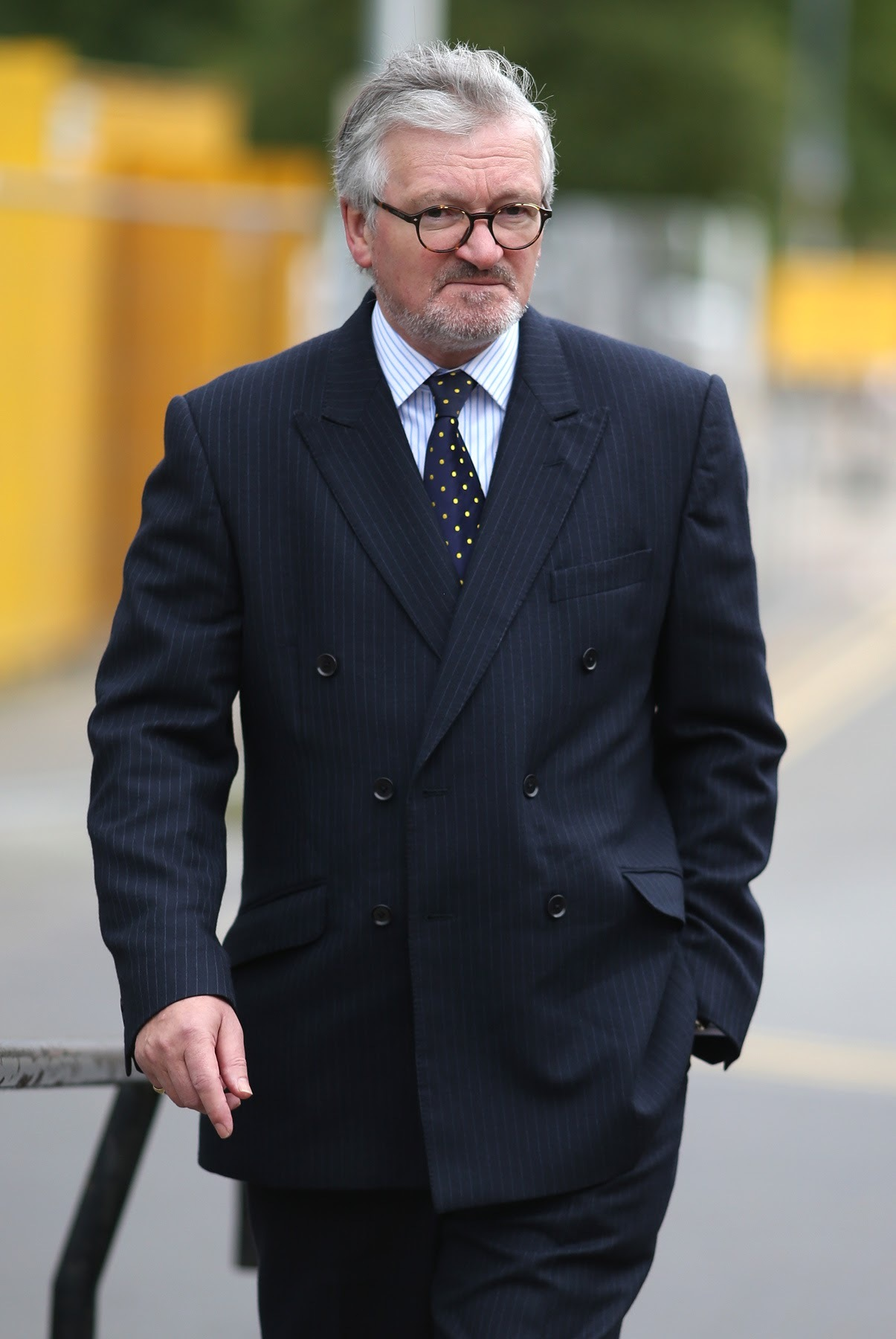 SENTENCED: Former chief executive of Butterwick Hospice, Graham Leggatt-Chidgey arrives at Teesside Magistrates' Court, Middlesbrough, for an earlier hearing. Picture: CHRIS BOOTH