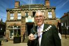 RECORD: John Forrest, who has been made mayor of Northall-erton for a fifth time. Picture: Richard Doughty.