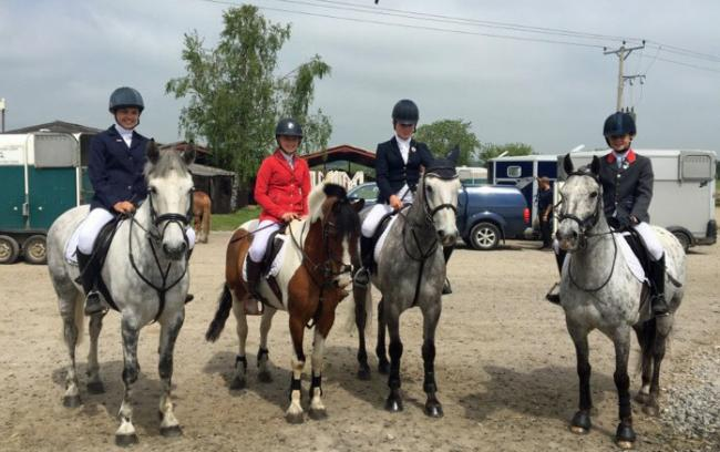 NATIONALS: Off to the nationals, L-R, Kate Charlton, Mia Grey, Evie Hole-Todd and Poppy Barlow