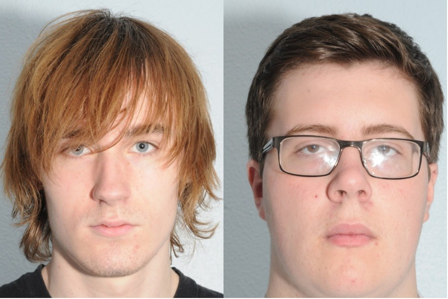 The two schoolboys given substantial custodial sentences for plotting a Columbine-inspired attack at a school in Northallerton can be named as Thomas Wyllie, left, and Alex Bolland