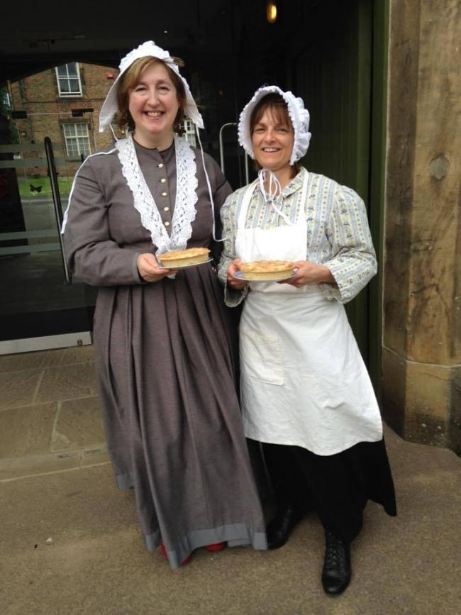CAKE: Volunteers from Ripon Workhouse Museum are encouraging residents to cook up a Wilfra cake for Yorkshire Day