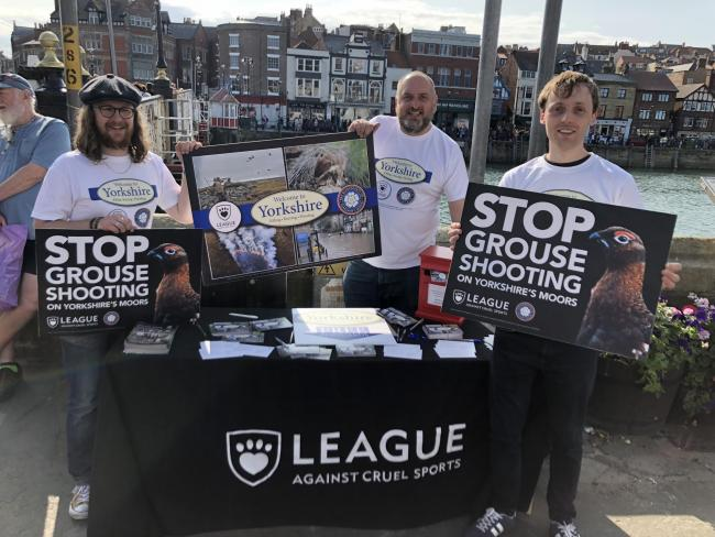 Campaigners urge Yorkshire Water to stop grouse shooting on its land
