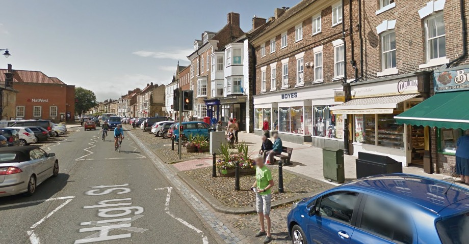 Stokesley is one of many towns in North Yorkshire to be hit by multiple bank branch closures