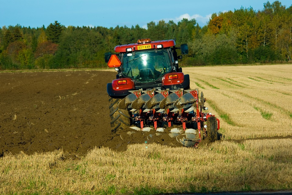 A farmer ploughing a field. Picture: Pixabay
