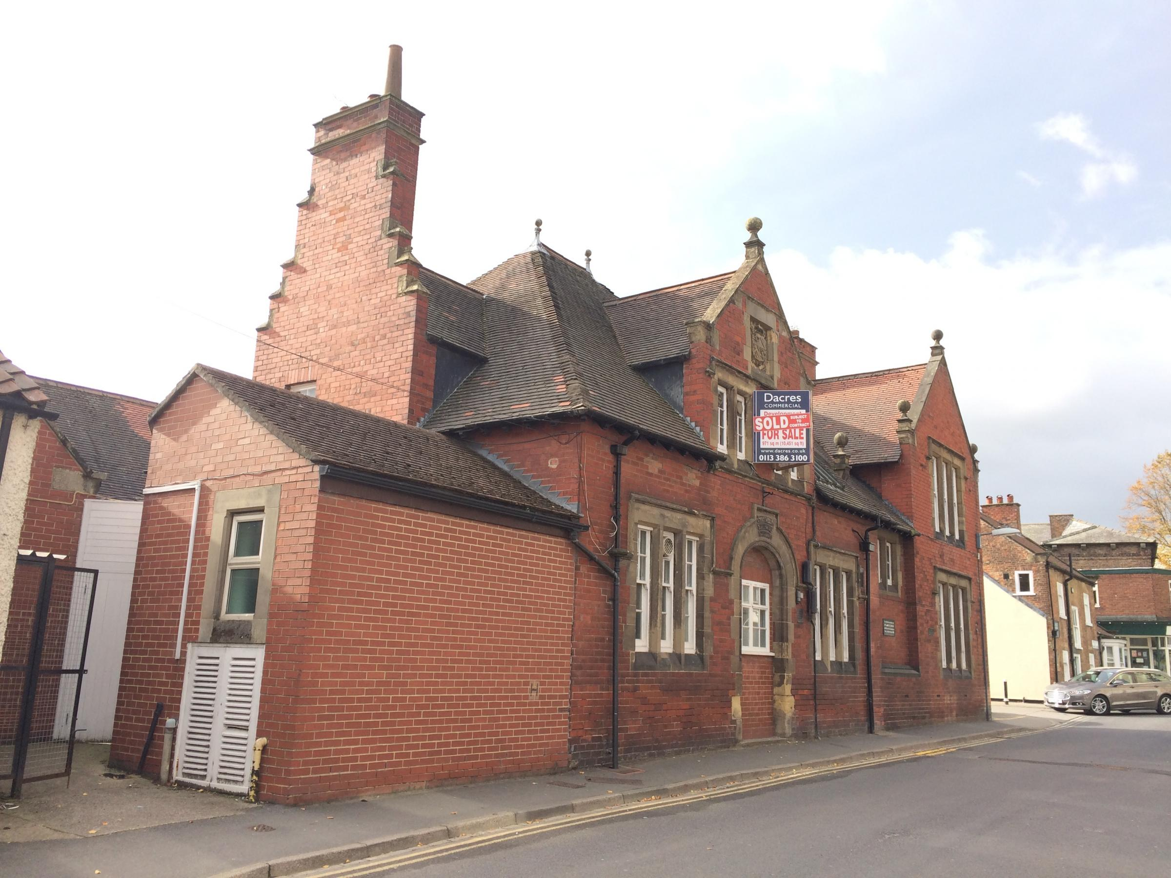 SOLD:  The former Lambert Memorial Hospital building in Thirsk
