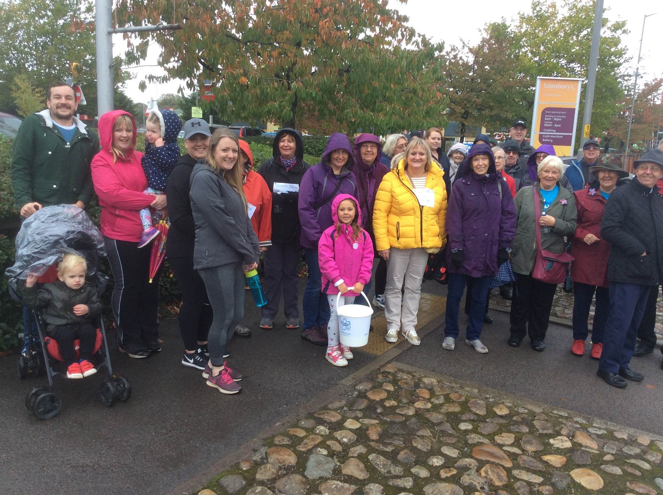 MEMORY WALK: Fundraisers helped to raise thousands for the Alzheimer's Society