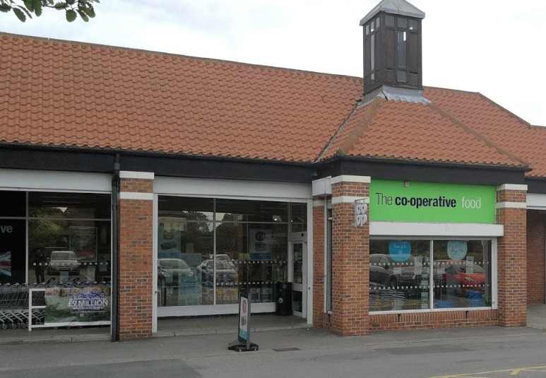 SHOP BURGLED: Burglars stole thousands of pounds worth of goods from Co-op shop in Norton Picture: GOOGLE
