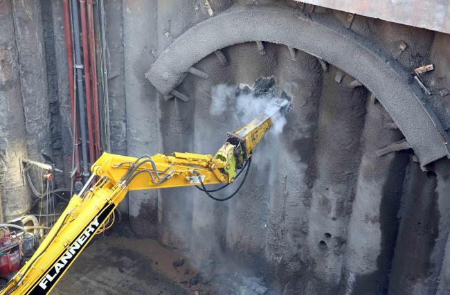 Tunnel excavation is latest mine landmark for Sirius