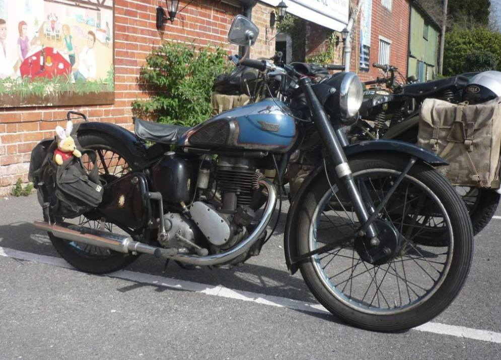 The BSA C11 vintage motorcycle stolen from a house in Darlington is identical to this one pictured but is missing the front mudguard