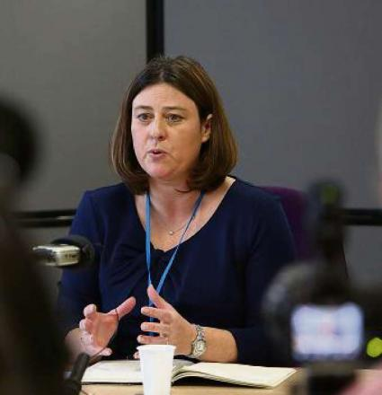 Police, Fire and Crime Commissioner Julia Mulligan