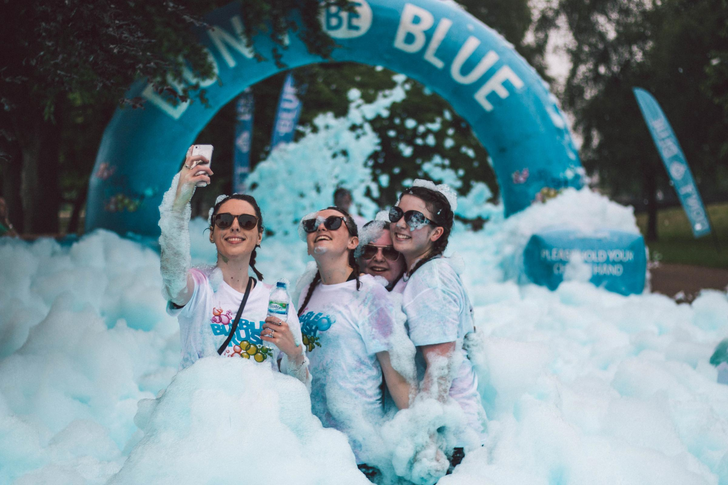 The Bubble Rush event