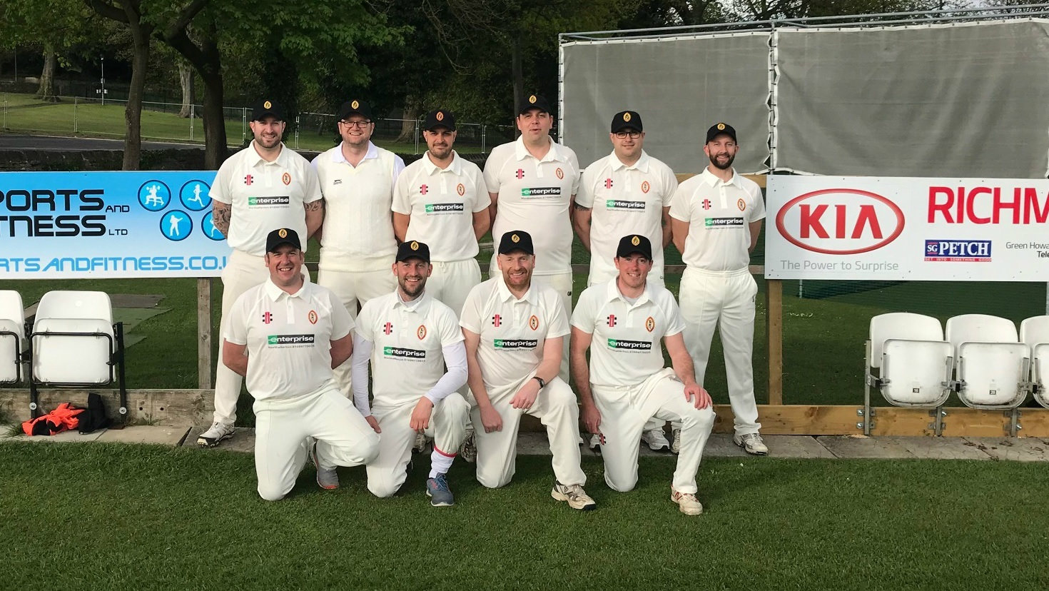 NEW DEAL: Richmond Mavericks Cricket Club. Back row, from left: Andrew Hines; Gary Nicholson; Fabio Sartini; Adam Amos; Kyle Emson; Tim Waite. Front row, from left: Mark Bastow, Adam Dunwoodie, Christian Player; Mike Layfield