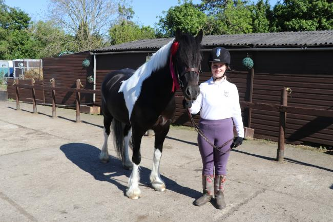 Laura Curson, a Stokesley School student, has qualified for the National Riding for the Disabled dressage championships