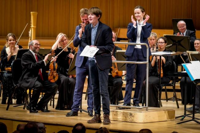Launch of Young Composers Competition – Picture: Thomas Jackson at TyneSight Photographic